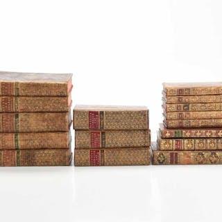 Fransk litteratur med delvis kungl/adlig proveniens