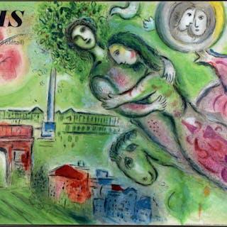 Marc Chagall Färglitografi (Efter)