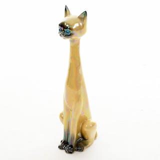 """Figurin Katt """"Jema Holland"""" Keramik 1900-tal"""