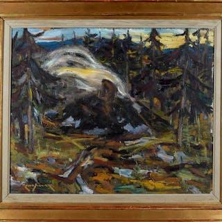 Rune Sigvard 1907-1943 Olja på duk