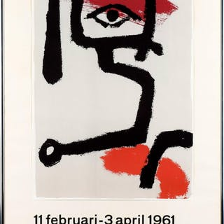 Paul Klee Utställningsaffisch Moderna Museet Stockholm 1961