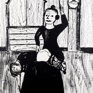 Lena Cronqvist Färglitografi