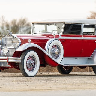 1930 Packard Deluxe Eight 745 Convertible Sedan