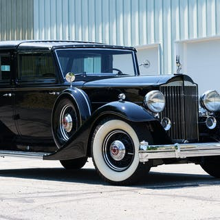 1933 Packard Twelve 1006 Individual Custom All-Weather Town Car Landaulet
