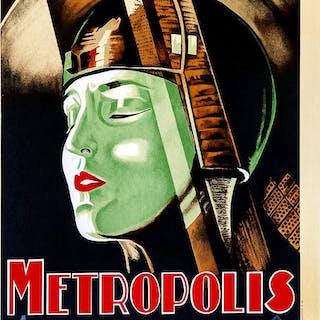 Metropolis 1927 Tokio | Rue Royale Fine Art