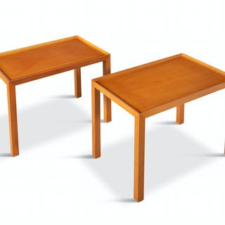 A pair of side tables by Pierluigi Ghianda for Christian Dior