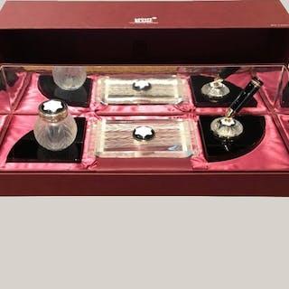 Desk Set by Lalique for Montblanc, France, 1997