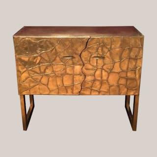 Vintage Brass Sideboard