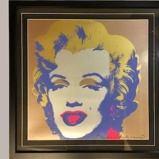 Andy Warhol Marilyn 'Leo Castelli'