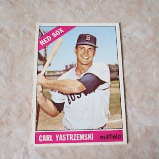 1966 Topps Carl Yastrzemski 70 Baseball Card Current