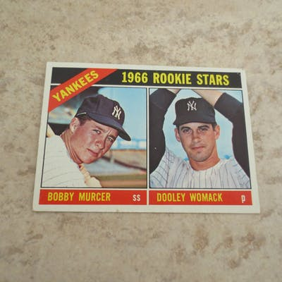1966 Topps Bobby Murcer rookie baseball card #469 in very nice condition