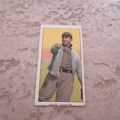 1909-11 T206 Nap Lajoie Throwing baseball card in affordable condition