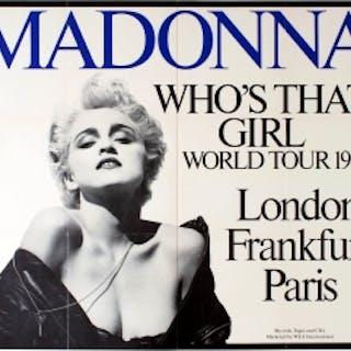 Madonna Who's That Girl World Tour 1987