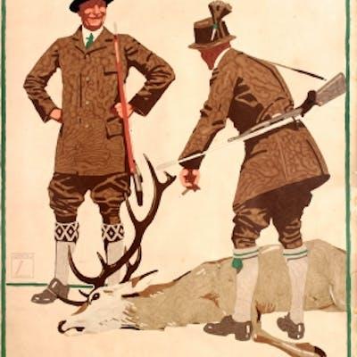 Hunting Clothes Herrmann Hoffmann Ludwig Hohlwein