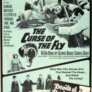 Curse Of The Fly Devils Of Darkness Double Screen Horror Show