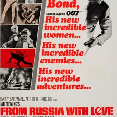 James Bond From Russia With Love Incredible 007
