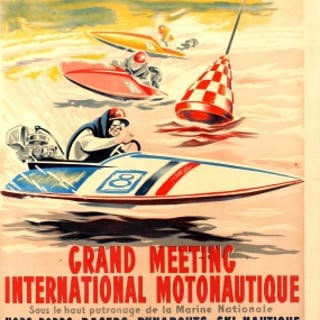 Grand Meeting Motonautique Boat Racing Geo Ham