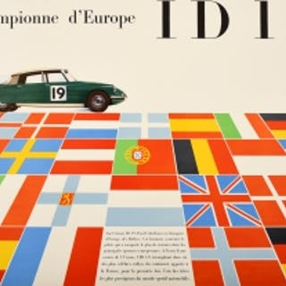 Citroen DS ID19 Europe Champion Car Racing