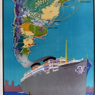 Nelson Cruise Ship Line to South America