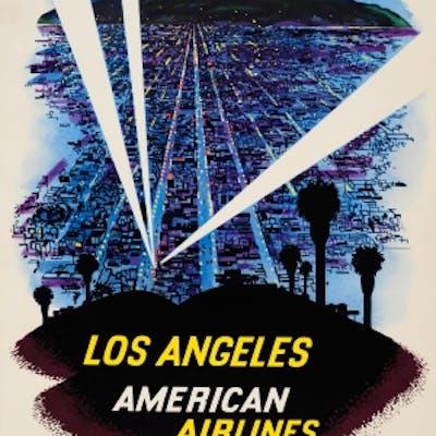 Los Angeles American Airlines Fred Ludekens
