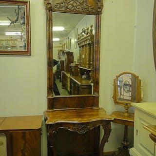 Spegel med trymå 1800 tal nr202