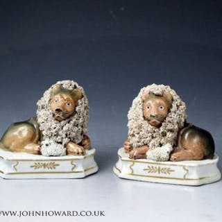 Lion and Lambs by John and Rebecca Lloyd, Shelton Staffordshire