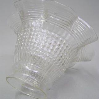 Jugendstil Glas Lampen-Schirm