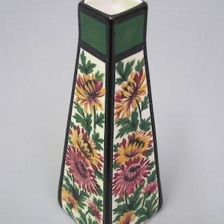 Keramik Vase, um 1900, Villeroy & Boch Wallerfangen (Saarland) gemarkt