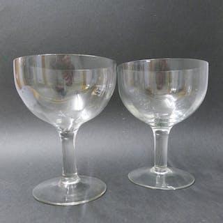 Paar Berliner Weisse - Gläser, 20. Jahrhundert