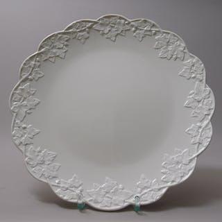 Anbiete-/Kuchen-Teller, Weißporzellan, Meißen, Marke ab 1934