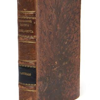 Juan del CASTILLO, Juan del CASTILLO XVIe-XVIIe siècle Pharmacopoea