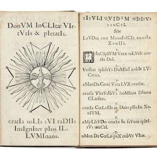 Jacques POCHET, Jacques POCHET XVIIe siècle Apollo spiritualis gratiam
