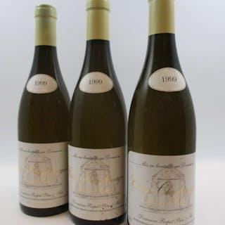 8 bouteilles CORTON CHARLEMAGNE 1999 Grand Cru