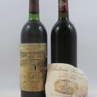 12 bouteilles 4 bts : CHÂTEAU LA LOUVIERE 1978 Graves (étiquettes