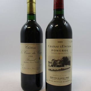 12 bouteilles 9 bts : CHÂTEAU LA CROIX DUCASSE 1994 Pomerol (base