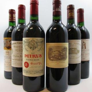 12 bouteilles CAISSE BORDEAUX PRIMEUR 1987 :