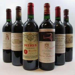 12 bouteilles CAISSE BORDEAUX PRIMEUR 1990 :