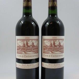 12 bouteilles CHÂTEAU COS D'ESTOURNEL 2000 2è GC Saint Estèphe (Caisse