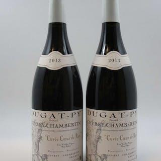 2 bouteilles GEVREY CHAMBERTIN 2013 Cœur de Roy