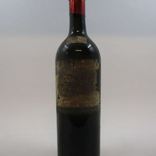 1 bouteille CHÂTEAU LAFITE ROTHSCHILD 1906 1er GC Pauillac (bouteille