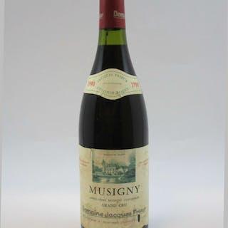 1 bouteilles MUSIGNY 1990 Grand Cru