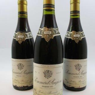 6 bouteilles POMMARD 1990 1er cru Rugiens