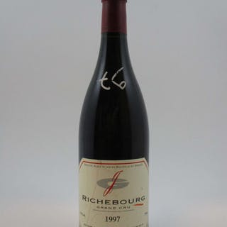 1 bouteille RICHEBOURG 1997 Grand Cru Domaine Jean Grivot (étiquette abimée)
