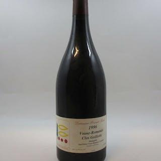 1 magnum VOSNE ROMANEE 1996 Clos Goillotte