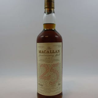 1 bouteille WHISKY THE MACALLAN 1968 25 years old
