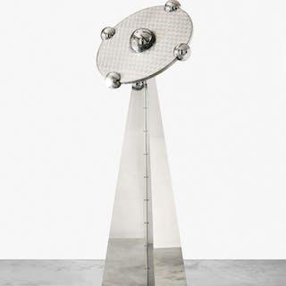 """Yonel LEBOVICI, Yonel LEBOVICI (1937-1998) LAMPE DITE """"SOUCOUPE"""" GRAND"""