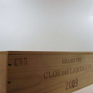 1 jéroboam CLOS DES LAMBRAYS 2009 Grand Cru