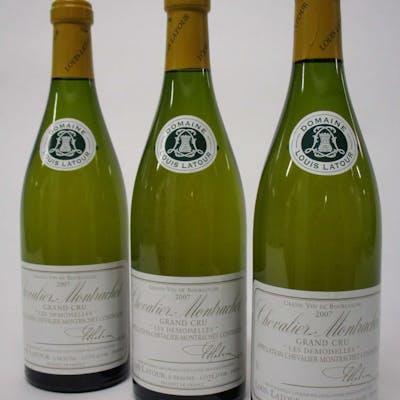 6 bouteilles CHEVALIER MONTRACHET 2007 Grand Cru