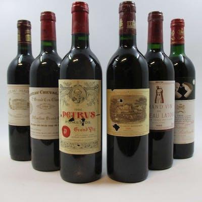 12 bouteilles CAISSE BORDEAUX PRIMEUR 1986