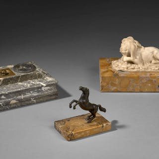 ECOLE ITALIENNE DU XVIIIe SIECLE, ECOLE ITALIENNE DU XVIIIe SIECLE Cheval cabré